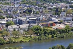 Trier-Mutterhaus-Hubschrauber-Landeplatz